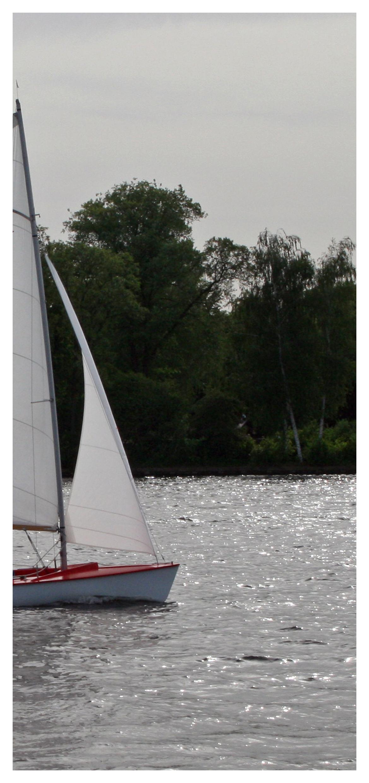 Gutschein für einen Bootsführerschein Motiv Segeln