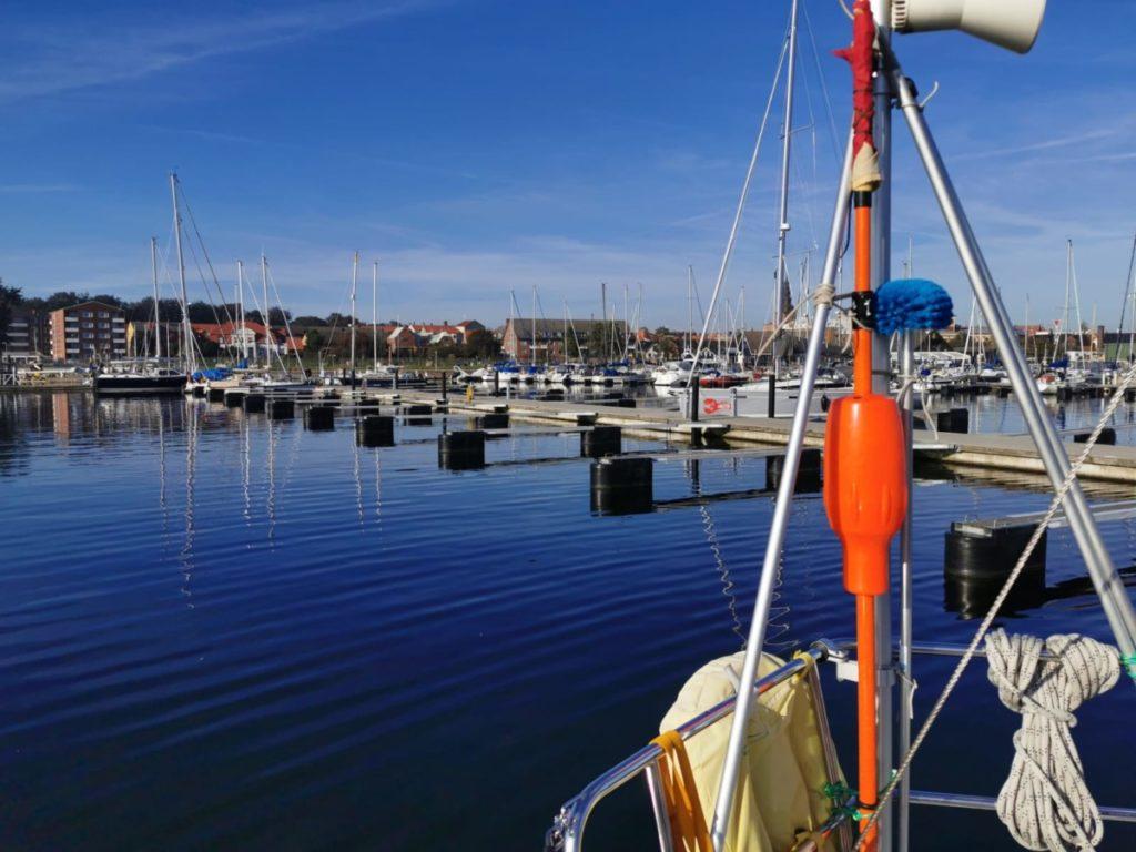 Segelfahrt nach Ystad in Schweden 2