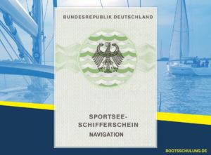 Bootsführerschein SSS - Sportseeschifferschein Navigation Kurs