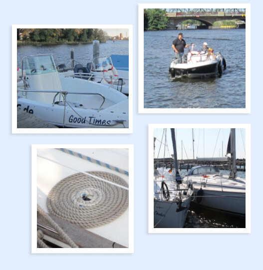 Unsere Boote sind optimal zum erlernen des Bootsführerschein