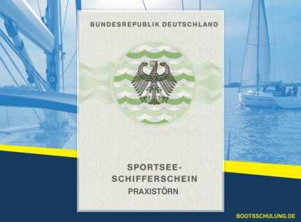 Bootsführerschein SSS - Sportseeschifferschein Praxistörn
