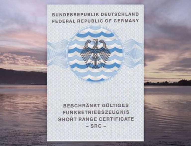 SRC Funkschein See – UKW Sprechfunkzeugnis