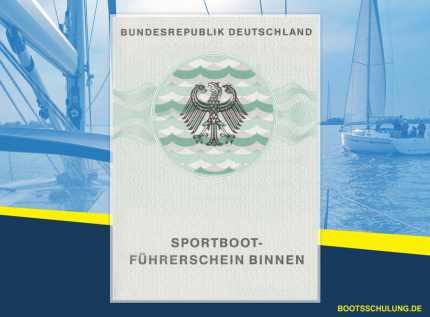 Bootsführerschein SBF Binnen -Sportbootführerschein binnen Kurs